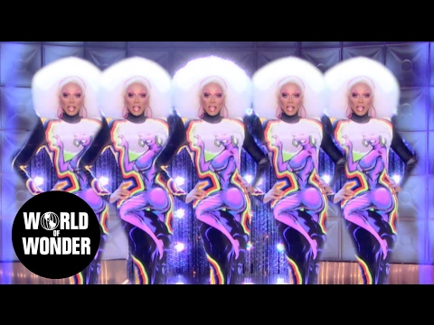 "RuPaul - ""Snapshot"" music video 