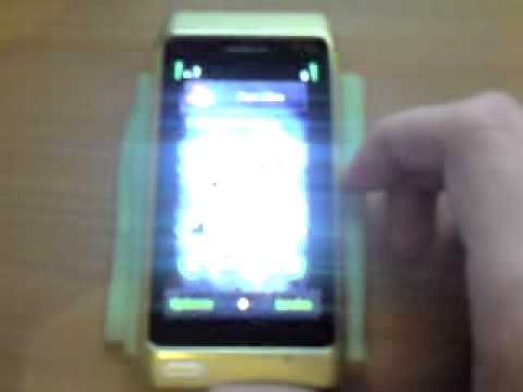 NOKIA N8-00 Music Player Screensaver BUG