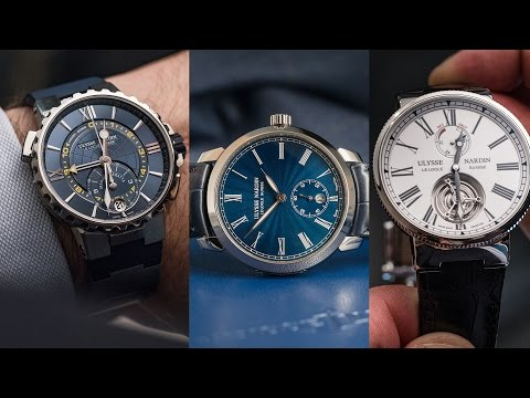 ULYSSE NARDIN - Top 4 watches from SIHH 2017