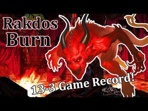 Modern Rakdos Burn w/ Claim/Fame – New from HOU!