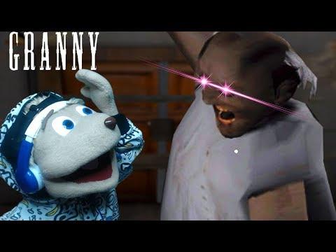 GRANNY Loves The TASTE Of Chipmunks | GRANNY IOS w/Fruit SnacksS