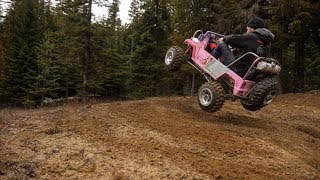 Jumping The Crazy Fast Barbie Jeep + Bodywork