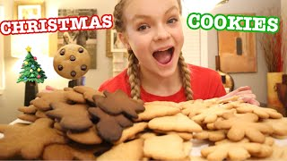 BAKE AND DECORATE CHRISTMAS COOKIE WITH ME!!!! // VLOGMAS 5 // Pressley Hosbach