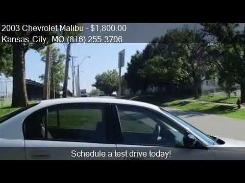 2003 Chevrolet Malibu Base 4dr Sedan for sale in Kansas City
