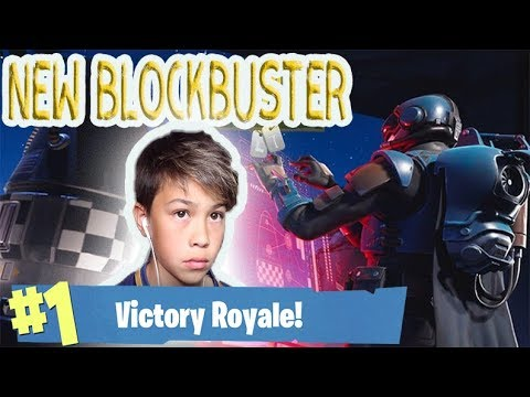NEW BLOCKBUSTER The Visitor GAMEPLAY Fortnite Battle Royale 20 V 20 Gameplay