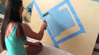 Jessica Sutton Teaches You How To Paint An Argyle Design