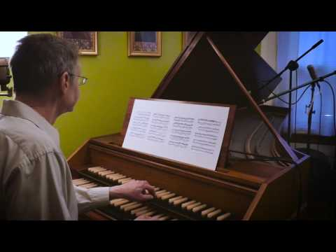 The Italian Concerto by J.S. Bach on a revival harpsichord