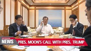 Moon, Trump agree on North Korea; clash over trade negotiations