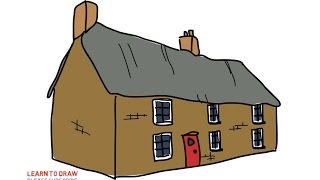houses easy drawings uae draw clipart step
