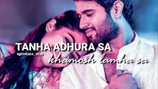 Tanha adhura sa khamosh lamha sa | Latest whatsapp status video | Full HD | uptodate_mix
