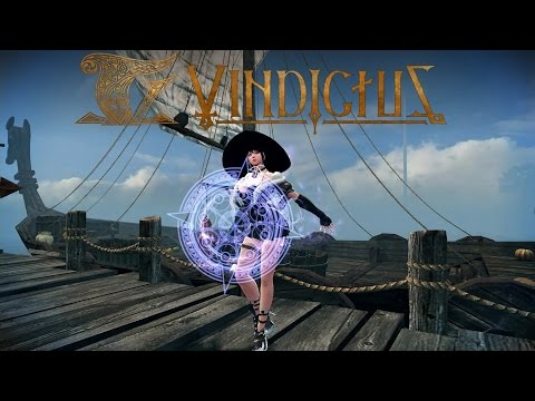 Vindictus : Test server Arisha gameplay