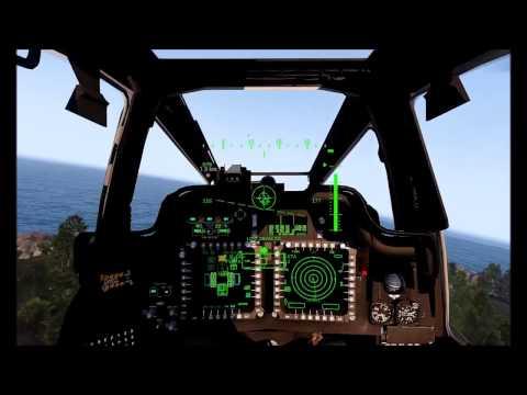ARMA Malaysia Helang Squadron 2-ship AH64D Longbow training