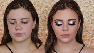 CLIENT BIRTHDAY GLAM MAKEUP | 18TH BIRTHDAY MAKEUP TUTORIAL | Client makeup Tutorial | Soft Glam