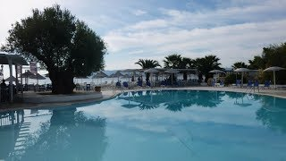 La Grèce - L'Eubée - Hôtel Grand Bleu à Eretria.