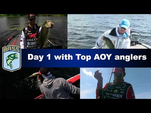 Bass Live: Top 4 AOY angler highlights Day 1 on Lake Champlain