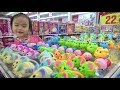 ABCkidTV Misa go shopping with many toys color for kids, children and baby