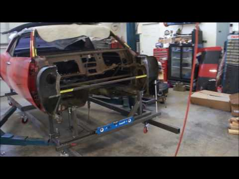 Kinetic Customs & 1968 Camaro Dash Removal