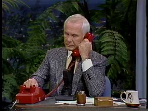 Johnny Carson interviews Mabel Gaskill - Corning, Iowa