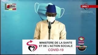 Situation de la covid-19 au Sénégal ce Mercredi 15 Juillet 2020