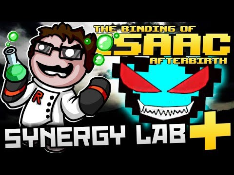 The Binding of Isaac: Afterbirth+ - Synergy Lab: ULTIMATE SHADOW OF DEATH! (INVISIBLE FUN)