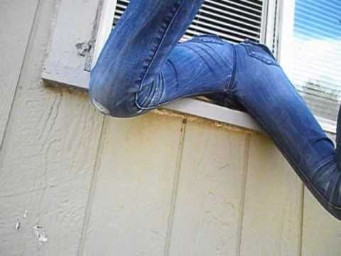 House front door open - Climbing Through A Window Youtube
