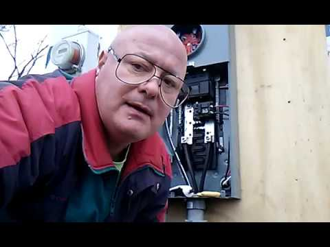 I Show How To Install A 2 Pole 50 Amp Square D Home Line Breaker Shut Off Main Before Working Youtube