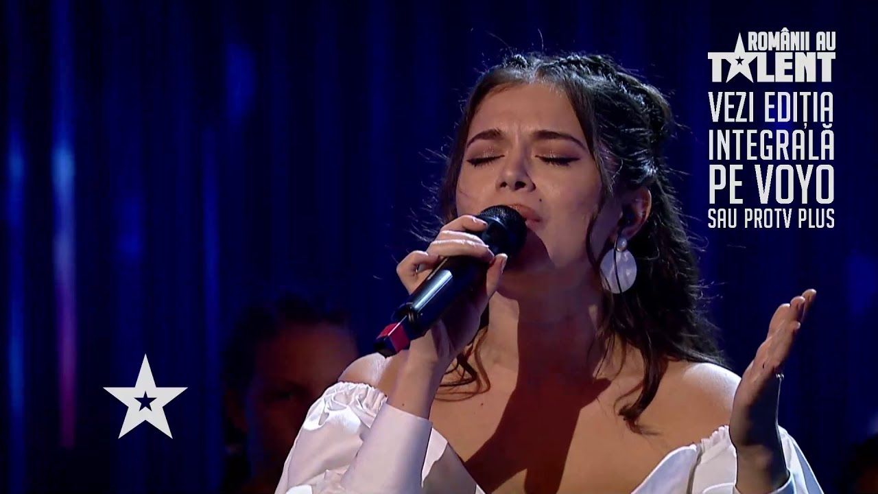 Românii au talent 2021: Eugenia Nicolae - solist vocal