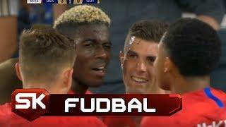 Ovakav Gol se Daje Jednom u Karijeri   SAD - Gvajana   SPORT KLUB FUDBAL