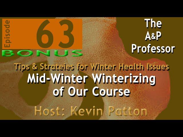 Mid-Winter Winterizing of Our Courses | Bonus Episode 63