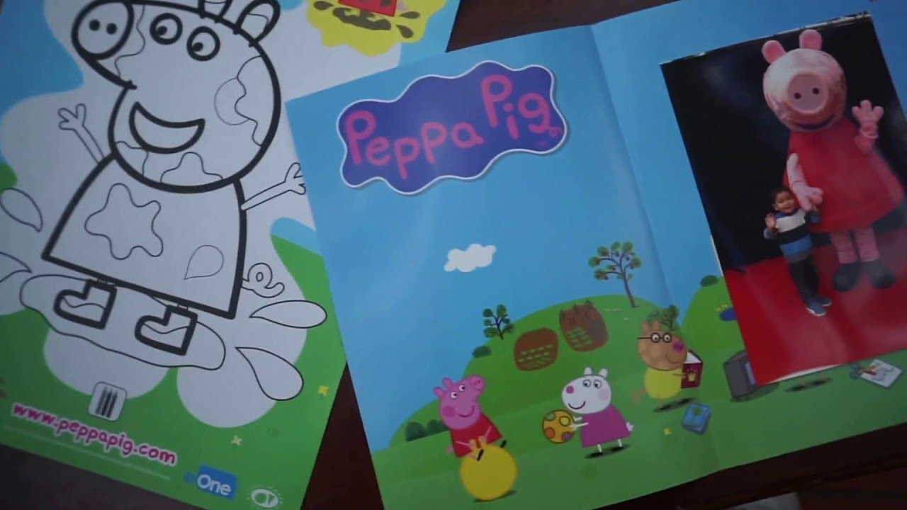 Awesome Meet And Greet With Peppa Pig Full Hd 1080p Youtube