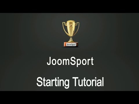 Starting With JoomSport - Tutorial