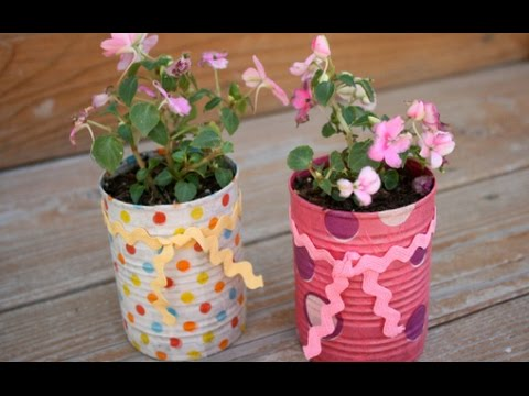 20 ideas creativas para reciclar latas youtube - Ideas para reciclar ...