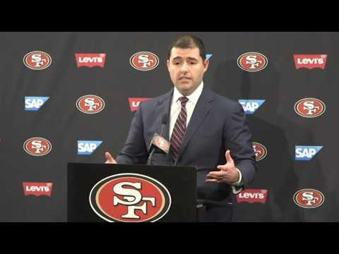 Watch how Jed York's Baalke Kelly firing press conference goes terribly wrong