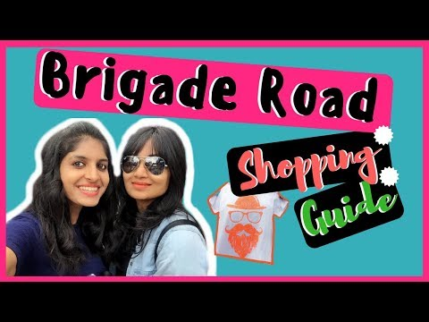Bangalore Street Shopping | Brigade Road Shopping Guide | India