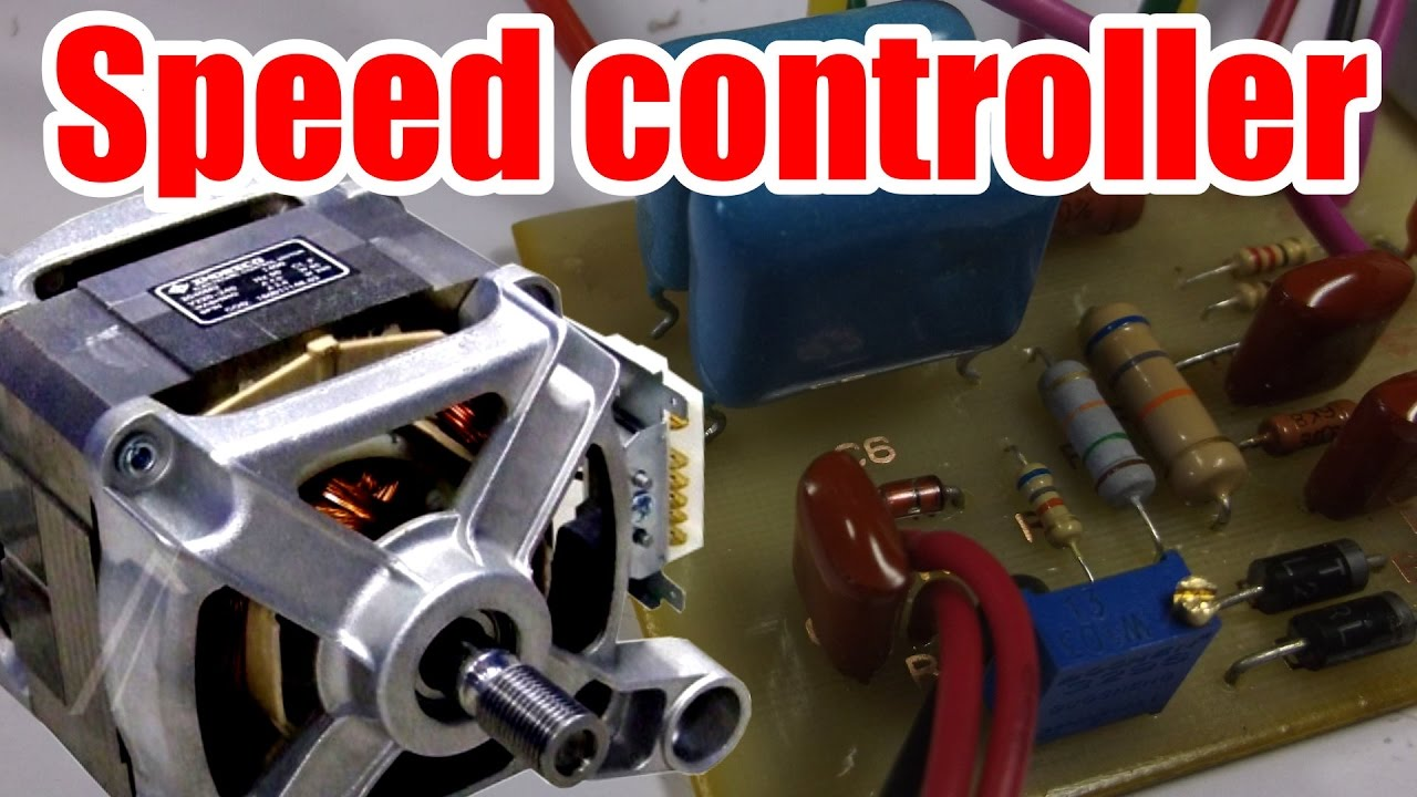 How to make ac motor speed controller youtube for Universal motor speed control circuit