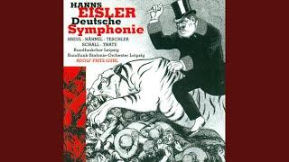 """Deutsche Sinfonie, Op. 50: IX. Arbeiterkantate, """"Das Lied vom Klassenfeind"""""""