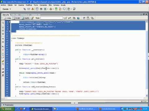 VideoTutorial 8 del Curso de PHP POO