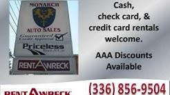 Rent-A-Wreck of Greensboro, NC | Monarch Auto Sales