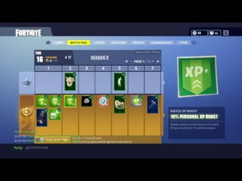 fortnite how to get 110 xp match boost - boost xp fortnite