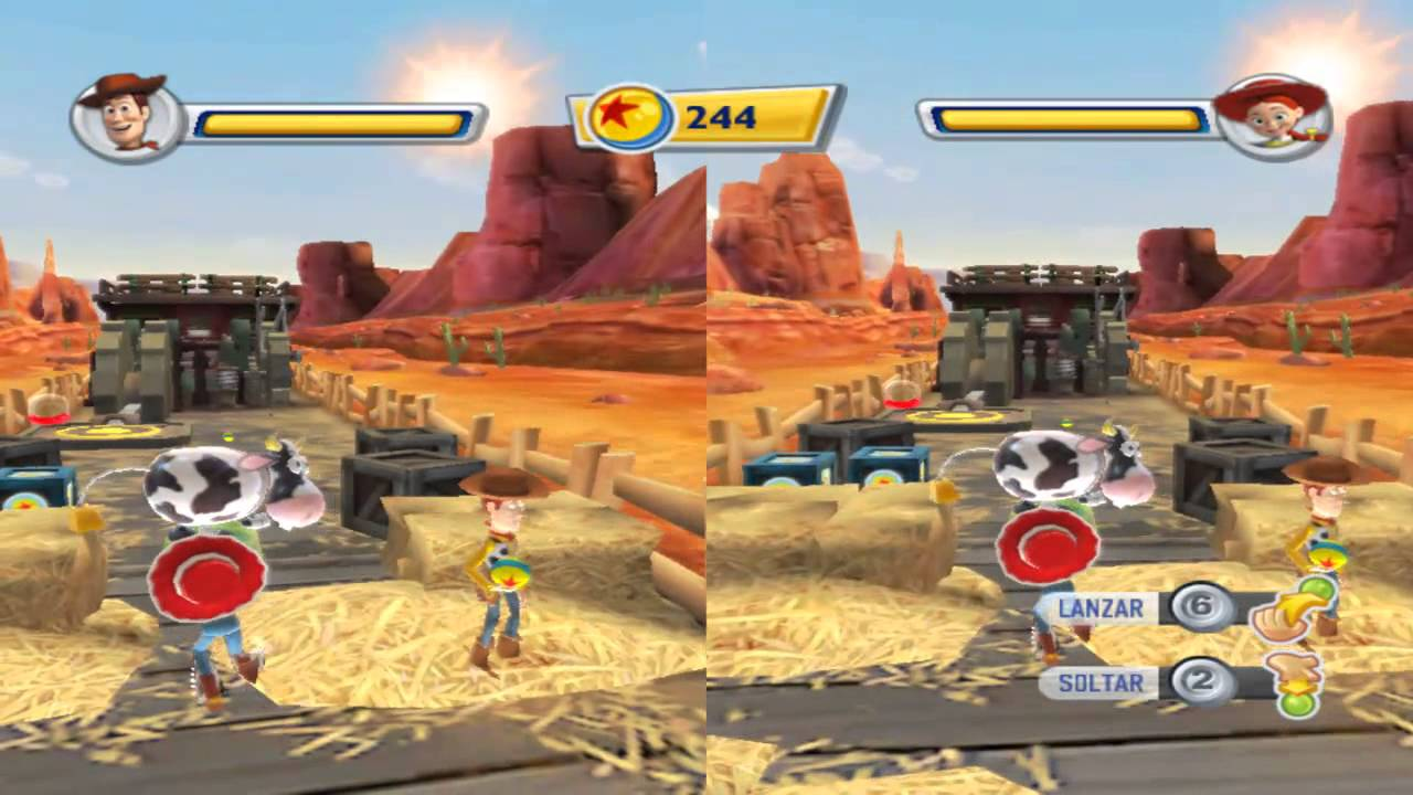 All Toy Story 3 Games : Toy story el videojuego multiplayer gameplay parte