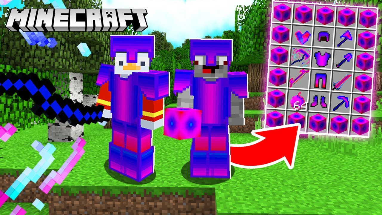 Minecraft mit SHADE Rüstung durchspielen