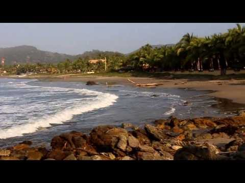 Playa Troncones, Guerrero, México Travel Video