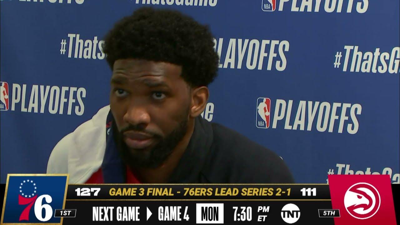 2021 NBA playoffs - Joel Embiid and Philadelphia 76ers show how ...