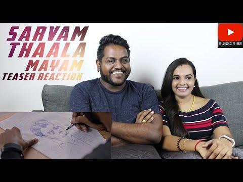 Sarvam Thaala Mayam Teaser Reaction | Malaysian Indian Couple | Rajiv Menon | GV Prakash