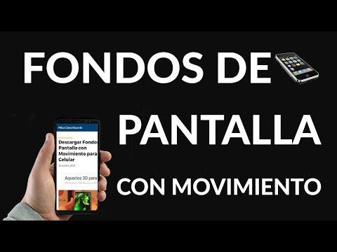 Descargar Fondos De Pantalla Con Movimiento Para Celular Youtube
