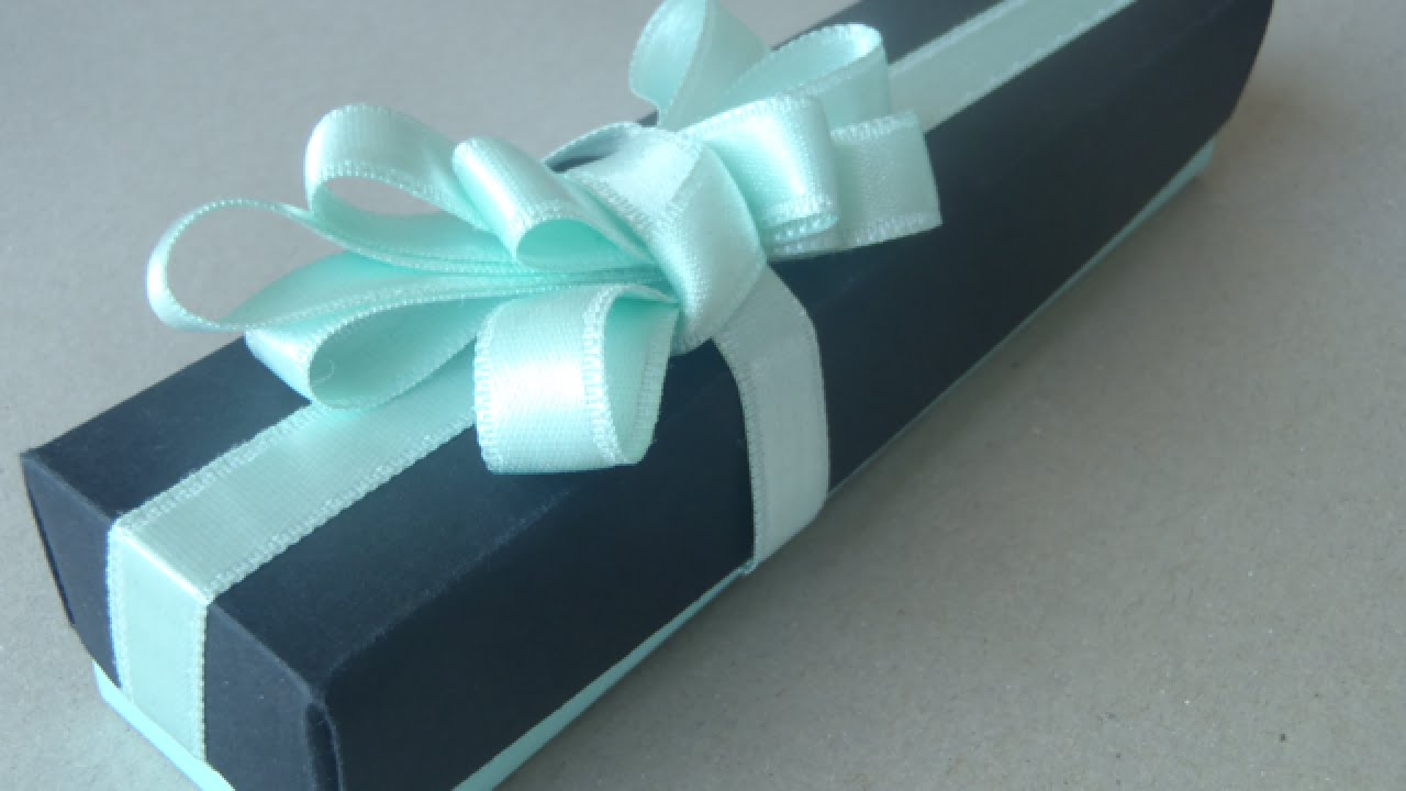 Make an Elegant Watch Gift Box - Crafts - Guidecentral - YouTube