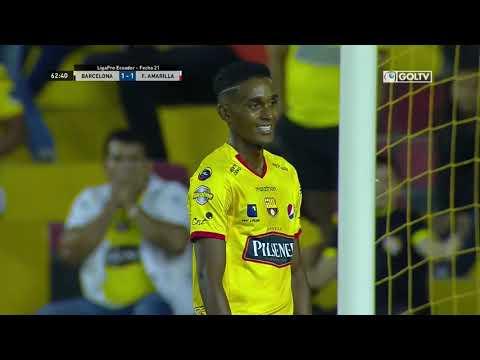 Barcelona 2:1 Fuerza Amarilla