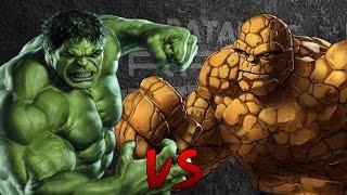 Hulk vs La Cosa. Épicas Batallas de Rap del Frikismo | Keyblade ft. ZetaEme thumbnail
