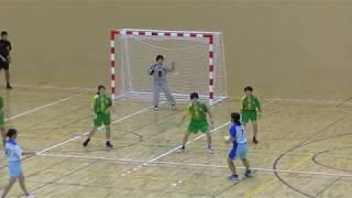 20191214福岡県高校新人ハンドボール(女子)2回戦 西南学院vs宗像(後半)