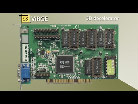 Worst Game Graphics Cards - S3 ViRGE